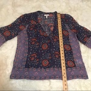 Joie Tops - Joie Frazier Blouse Wild Raspberry Size Small